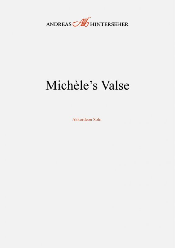 Michèle's Valse